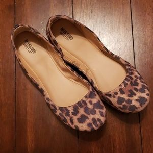 Mossimo Supply (Target) Leopard Ballet Flats